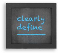 Clearly define